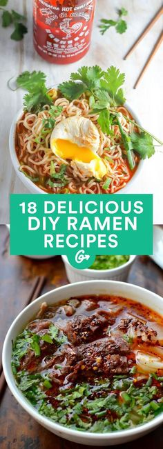 17 DIY Ramen Recipes That'll Make You Forget About Instant Noodles #healthy #recipes #ramen greatist.com...