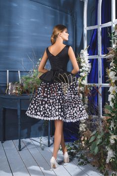 Evening dress ED 17011