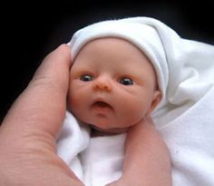 EDIBLE ART, Babies made from marzipan! W O W !!! My jaw dropped!