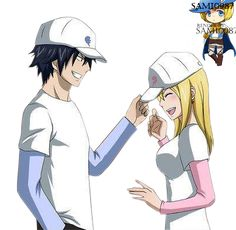 Fairy Tail ~ GrayLu (Gray x Lucy) Baseball Render by Sami0987 on ...