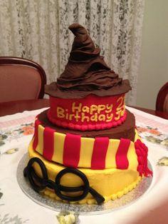 Harry Potter Food Labels   Harry Potter Themed Cake