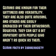 Zodiac Society - Gemini Facts