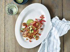 Chili Lime Chicken with Walnuts