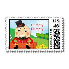 Humpty Dumpty Nursery Rhyme Theme US Postage Stamps