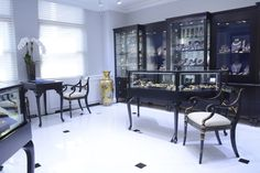 Nally Jewels Showroom cases by Display Smart, New York City