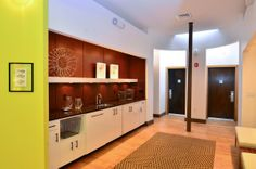 Boutique Hotel Design - Galley Kitchen