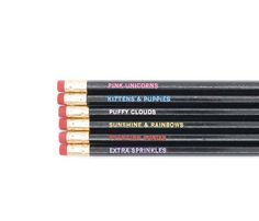 Assorted Sayings Pencil Sets