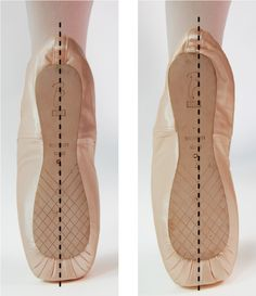 Pointe Shoes - A guide to fitting pointe shoes