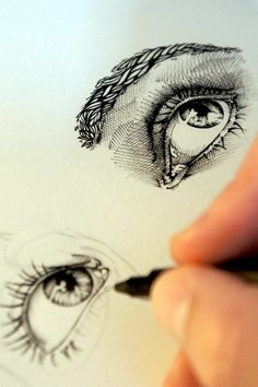 How To Draw An EYE -