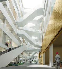 Unigebäude in Utrecht - Erster Preis für Schmidt Hammer Lassen