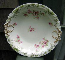 Half Price Haviland Sale - Haviland Antique Limoges Berry Set Large Bowl 8 Berry Bowls