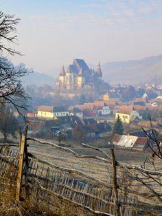 Biertan at Sunrise, Transylvania, Romania