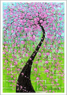 Giclee PRINT Fine Art Abstract Art Tree by ModernHouseArt on Etsy