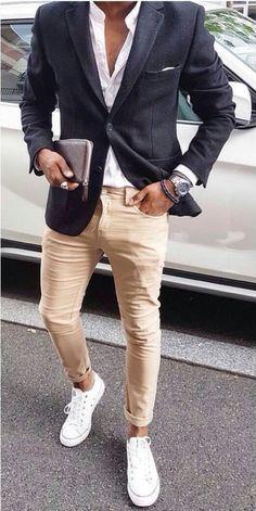 Suit Fashion, Mens Fashion, Fashion Outfits, Fashion Styles, Business Casual Men, Business Fashion, Smart Casual Menswear, Men Casual, Casual Attire