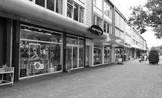 Voorkant winkel van Oogwereld Ebbing in Vught.