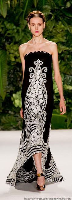 Spring 2014 RTW Naeem Khan Collection ♥✤ | KeepSmiling | BeStayBeautiful