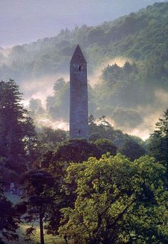 Glendalough Co. Wicklow Ireland ... stompin' grounds of St. Kevin the Hermit..... #Relax more with healing sounds: