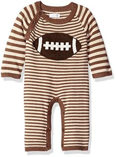 Mud Pie Baby Sweater One Piece Romper Brown 03 Months *** Check out the image by visiting the link.