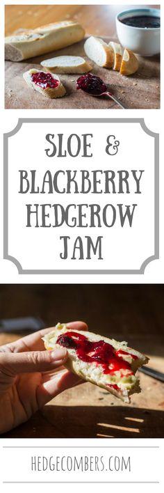 Sloe and Blackberry Hedgerow Jam   The Hedgecombers