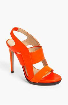 I mean how cute are these. could pair with rolled up jeans or a fun spring skirt. Reed Krakoff Sandal available at #Nordstrom