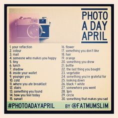 april photo a day : fatmumslim