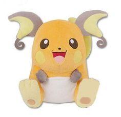 Pokemon Ilove Pikachu Hq Stuffed Toy Raichu All One Banpresto Prize