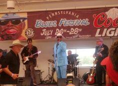 Johnny Rawls at the Pennsylvania Blues Festival 2013