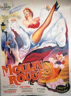 1952 - Moulin Rouge - France