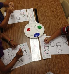 Lots of Sight Word Activities & FREEBIES: mini reader, q-tip painting, and writing book! Day-to-day details included!