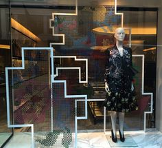 """ALEXANDER McQUEEN, London,UK, """"We Weave Passion"""", pinned by Ton van der Veer"""