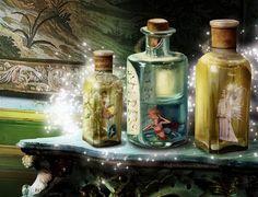 Captured Magic digital art.