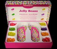 Havaianas Jelly Bean FLIPS (aka flip flops)! Love FLIPS? Visit us at http://www.flipsstore.com/