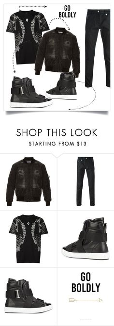 """""""bold"""" by thedarkenedprince ❤ liked on Polyvore featuring Givenchy, Alexander McQueen, County Of Milan, Dsquared2, men's fashion and menswear"""