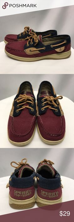 f5abf1311de SPERRY TOP-SIDERS NWOT Burgundy and blue Sperry Top-Siders. Super cute color