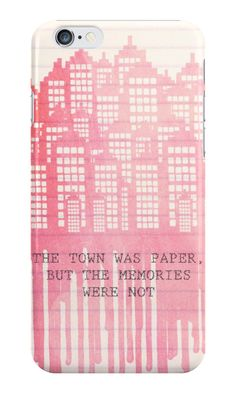 paper towns phone case cityscape   www.readbreatherelax.com