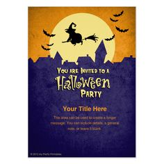 24 best halloween party email invitations images on pinterest