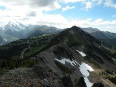 Hiking near Mt Rainier