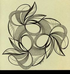 Album sous forme d& Tattoo Dentelle, Art Projects, Projects To Try, Bobbin Lace Patterns, Lacemaking, Art Abstrait, Irish Crochet, Zentangle, Fiber Art