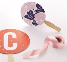 Summer Hand Fan Favors - DIY Craft Kits, Monthly Craft Projects, Craft Supplies, Subscription Box | Whimseybox