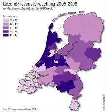 Afbeeldingsresultaat voor levensverwachting nederland