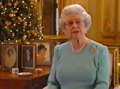 Half a century of messages: Her Majesty delivers her 50th Christmas speech in 2002 in which she spoke of the death of The Queen Mother and her sister, Princess Margaret.
