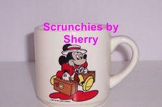 Walt Disney Company Mickey Mouse Coffee Mug Vintage