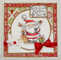 Good Morning Everyone, I have another one of the 15 gorgeous new Christmas images due to be released by Lili of the Valley at the end of. Christmas Animals, Christmas Images, Christmas Art, Winter Christmas, Handmade Christmas, Card Making Inspiration, Making Ideas, Xmas Cards, Holiday Cards