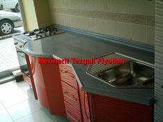 Mermerit kitchen countertops are the most widely used . Tire Craft, Kitchen Containers, Water Into Wine, Kitchen Benches, Bathroom Countertops, Wall Cladding, Wall Storage, Paint Cans, Hairdresser