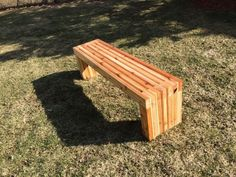 exterior, Angelic Diy Patio Bench In Minimalist Style Made Of Wooden Material For Large Garden Furniture In Brown With Fair Seat And Legs For Kids And Teenagers - Antique DIY Patio Bench Gaining Unique Exterior Design