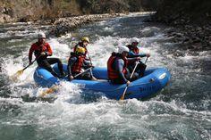 Rafting, todos los que lo practican terminan queriendo repetir.