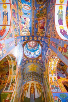 """Lurji """"Blue"""" Monastery, Georgia"""