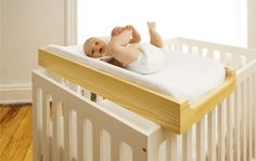 crib top changing space