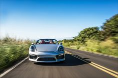 The Porsche Boxster Spyder
