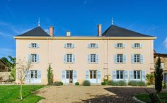 Planning a vacay on the cheap? Consider renting out a château grand enough to accommodate the entire family—extended and all!